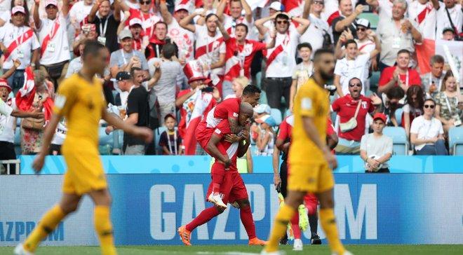 Австралия – Перу – 0:2 – видео голов и обзор матча