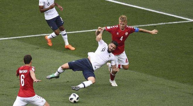 Данія – Франція – 0:0 – відеоогляд матчу