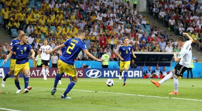Німеччина – Швеція: німці з 1998 року не перемагають у матчах ЧС, в яких пропускали першими