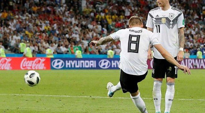 Німеччина – Швеція: як Кроос диво-голом на останній хвилині приніс Бундестіму важку перемогу