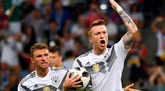Німеччина – Швеція: Ройс – найкращий гравець матчу