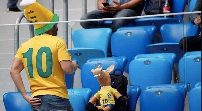 ЧС-2018: бразильський вболівальник був заарештований прямо на стадіоні Санкт-Петербурга