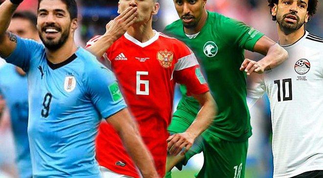 Уругвай – Росія, Саудівська Аравія – Єгипет: анонс матчів ЧС-2018