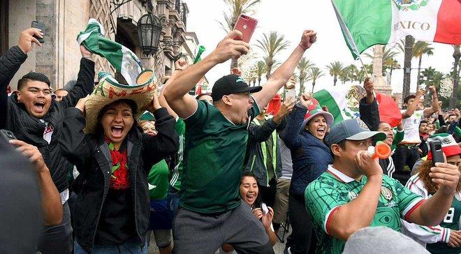 ЧС-2018: шість вболівальників збірної Мексики були вбиті під час перегляду матчу проти Південної Кореї