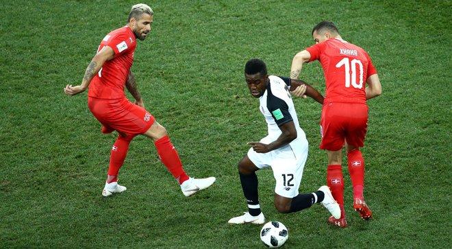 Швейцария – Коста-Рика – 2:2 – видео голов и обзор матча