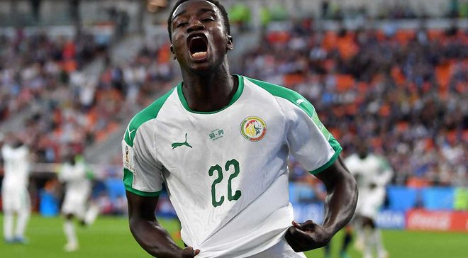 ЧМ-2018: сенегалец Ваге стал самым молодым автором гола среди африканцев на чемпионатах мира