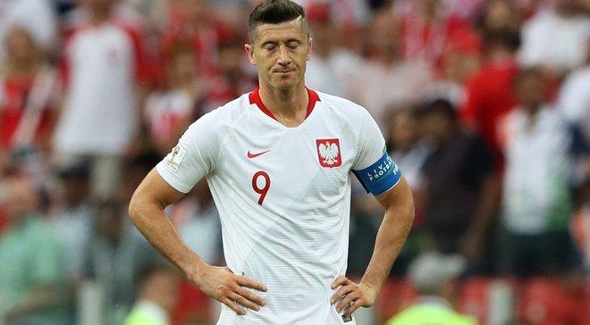 Польша – Колумбия: Левандовски назвал причину провала поляков на ЧМ-2018