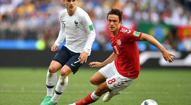 """ЧМ-2018 Дания – Франция: первые """"нули"""" Мундиаля, игра в свое удовольствие для обеих сборных и спокойный выход в плей-офф"""