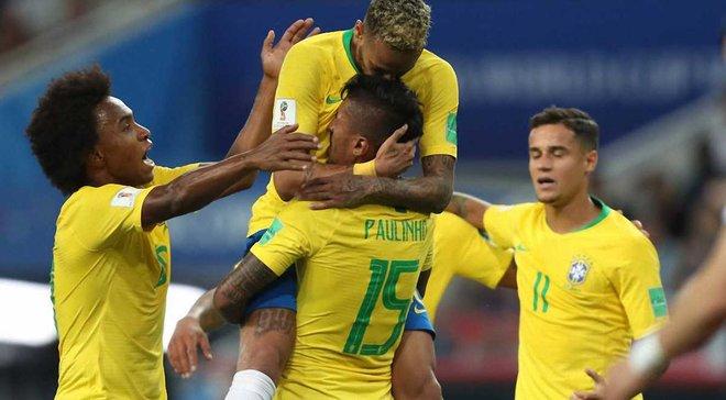 ЧМ-2018 Сербия – Бразилия: уверенная победа пентакампеонов над европейцами