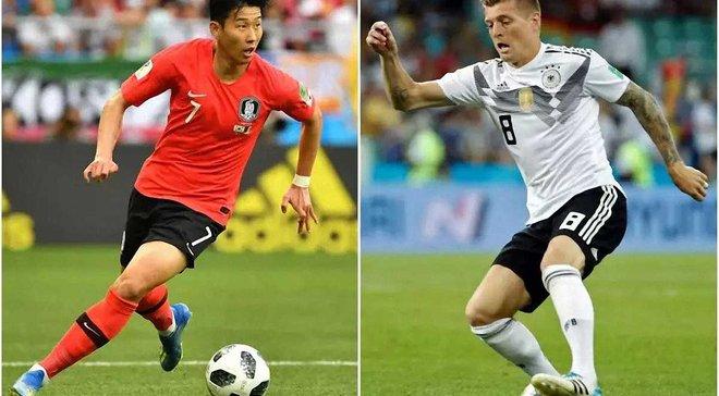 Южная Корея – Германия: онлайн-трансляция матча ЧМ-2018 – как это было