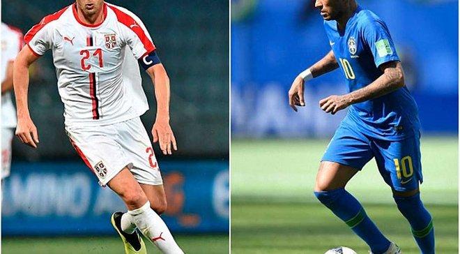 Сербия – Бразилия: анонс матча ЧМ-2018
