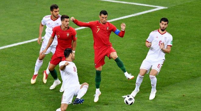 ЧС-2018 Іран – Португалія: піренейці втратили перемогу та перше місце в групі, але вийшли в плей-офф