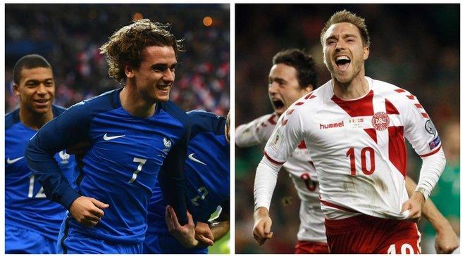Данія – Франція: анонс матчу ЧС-2018