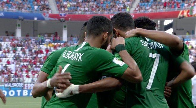 ЧМ-2018: Саудовская Аравия на последних минутах одолела Египет
