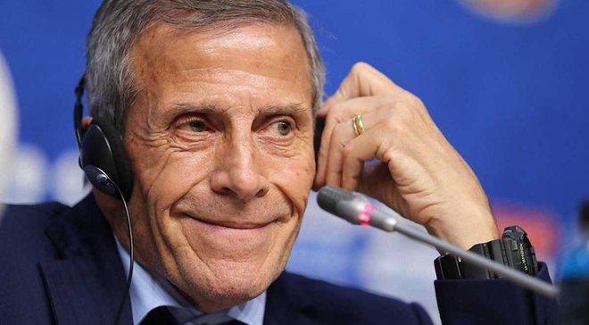 Уругвай – Росія: післяматчева прес-конференція Оскара Табареса