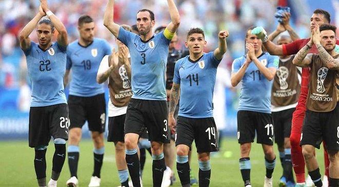 """Уругвай – пятая команда в истории ЧМ, которая одержала 3 """"сухие"""" победы на групповом этапе"""