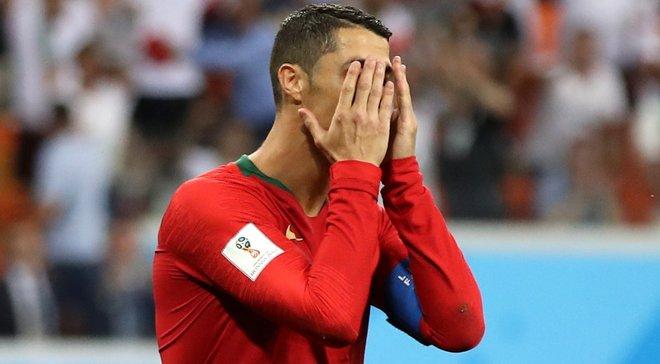 Роналду – первый португалец за 52 года, который не забил пенальти на чемпионате мира