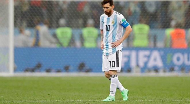ЧС-2018: Мессі хотів покинути збірну Аргентини після матчу з Хорватією – сім'я його зупинила