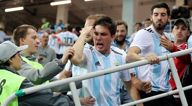 ЧС-2018: Аргентина отримала покарання за поведінку фанатів