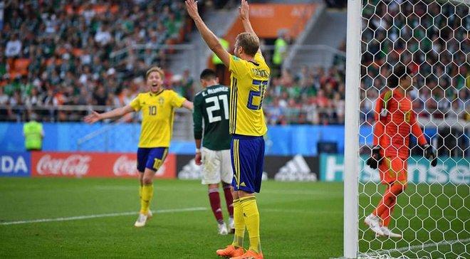 """ЧС-2018 Мексика – Швеція: неймовірні """"вікінги"""", гол рукою та суперечливий VAR"""