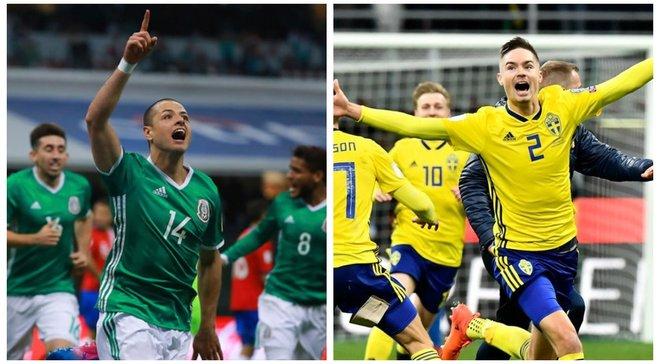 Мексика – Швеция: анонс матча ЧМ-2018
