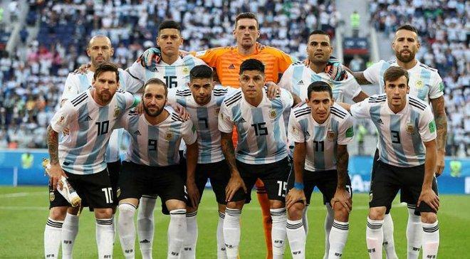 Нігерія – Аргентина: стартовий склад команди Сампаолі увійшов в історію