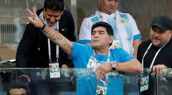 Марадона розповів, що з ним трапилось після матчу Нігерія – Аргентина