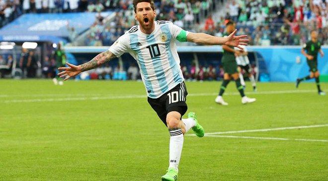 Мессі: Бог разом з Аргентиною, він не дасть нам оступитись