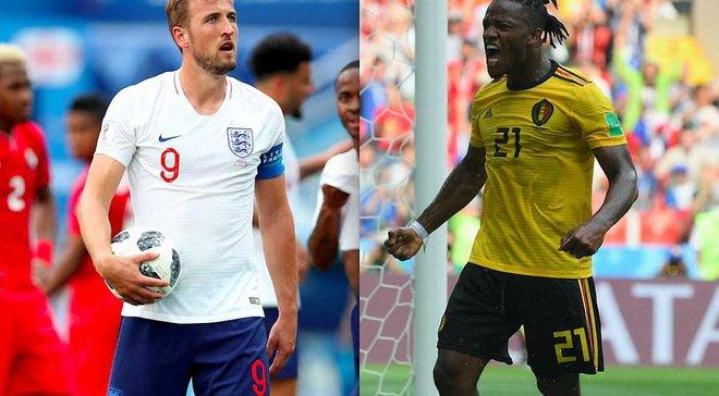 Англия – Бельгия: онлайн-трансляция матча ЧМ-2018 – как это было