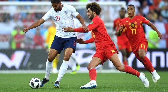 Англия – Бельгия: эффектный гол Янузая спас матч без вдохновения, более легкая сетка плей-офф для британцев
