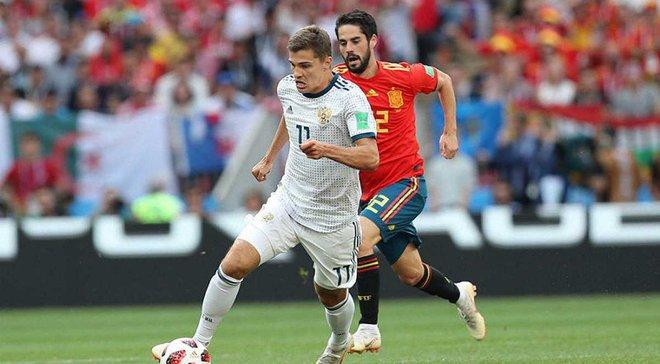 Іспанія – Росія – 1:1 (пен. 3:4) – відео голів та огляд матчу