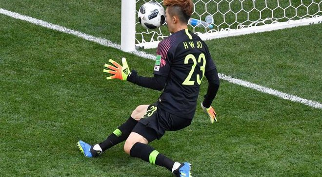 Південна Корея – Німеччина: Чо Х'юн-Ву – найкращий гравець матчу