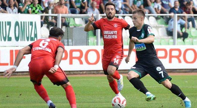 Коркішко підписав контракт з турецьким Хатайспором