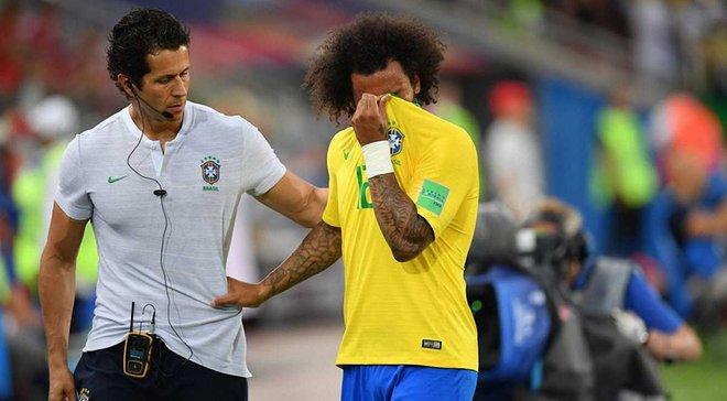 Сербия – Бразилия: Марсело получил травму и покинул поле