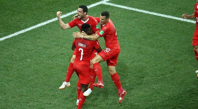 Швейцария – Коста Рика: Джемаили стал лучшим в матче