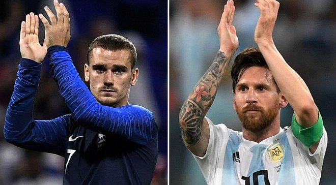 Франція – Аргентина: анонс матчу 1/8 фіналу ЧС-2018