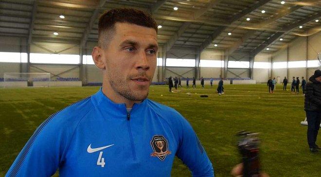 Кравченко продлил контракт с СК Днепр-1