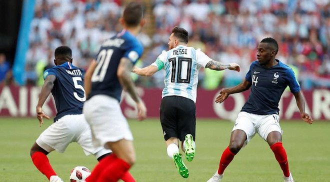 Франция – Аргентина: онлайн-трансляция матча 1/8 финала ЧМ-2018 – как это было