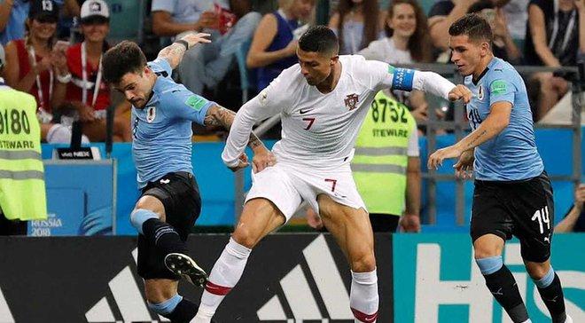 Уругвай – Португалія: онлайн-трансляція матчу 1/8 фіналу ЧС-2018 – як це було