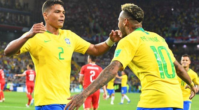 ЧМ-2018: Тиагу Силва опроверг свои слова о ссоре с Неймаром