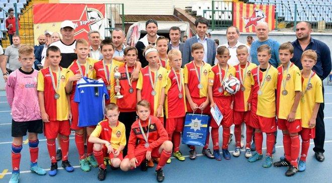 Ярмоленко организовал юношеский футбольный турнир в Кропивницком