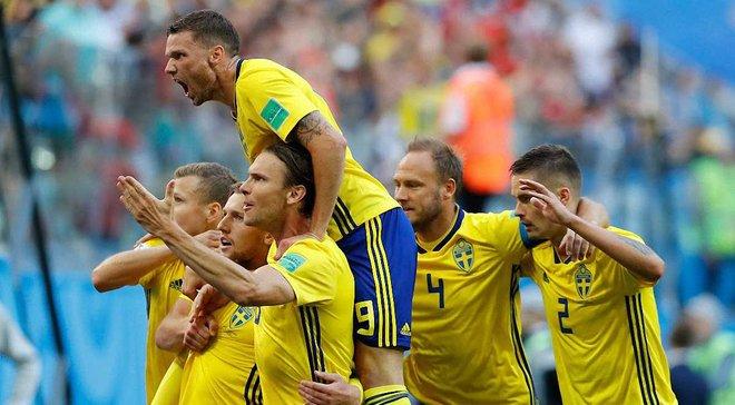 Швеція – Швейцарія – 1:0 – відео гола і огляд матчу