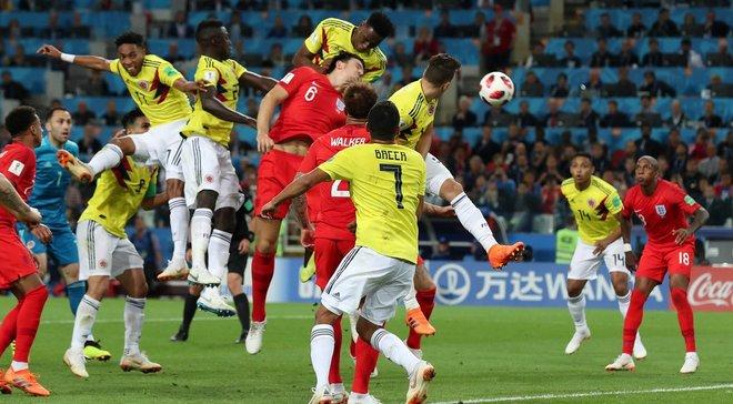 Колумбия – Англия – 1:1 (пен. 3:4) – видео голов и обзор матча