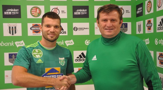 Габовда змінив клуб в Угорщині