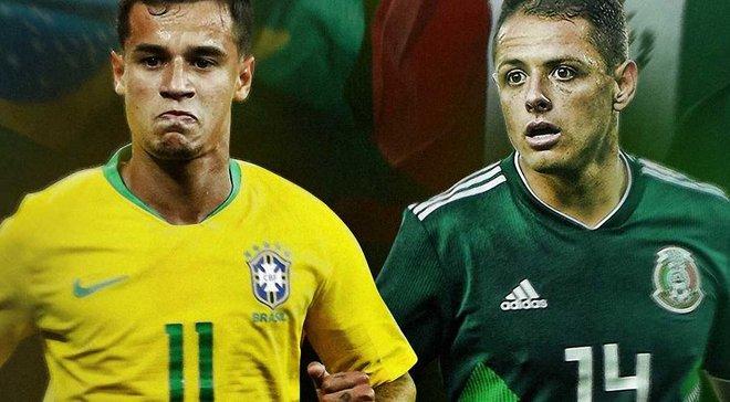 Бразилия – Мексика: прогноз на матч 1/8 финала ЧМ-2018