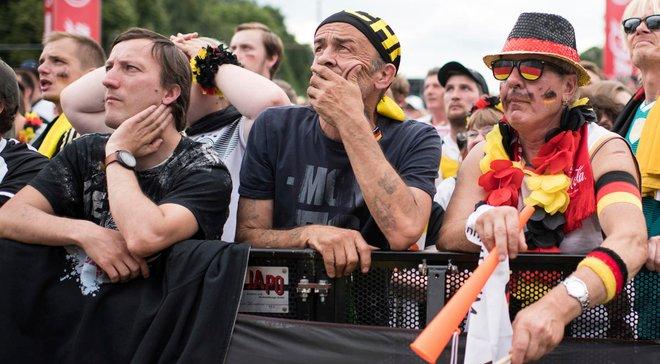 ЧС-2018: німецькі вболівальники масово здають квитки на матчі плей-офф