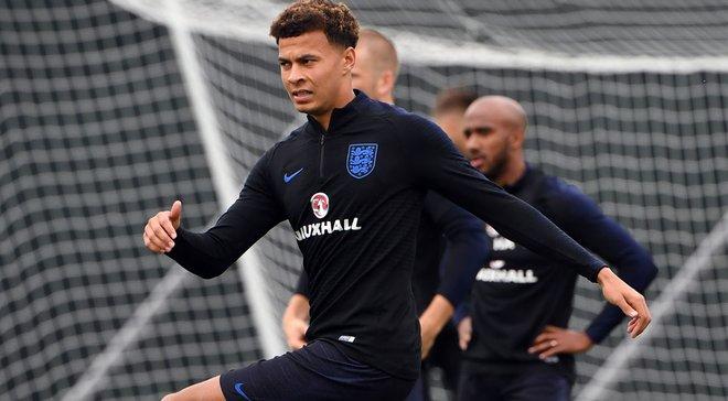 Колумбія – Англія: Деле Аллі повернувся до тренувань і готовий зіграти