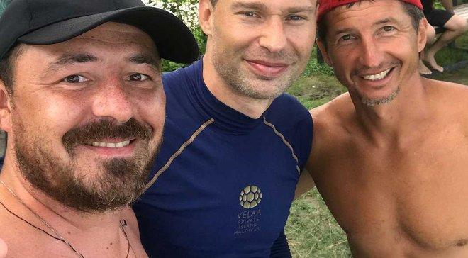 Екс-тренер Зірки Монарьов зустрівся з Василем Березуцьким та Алдоніним
