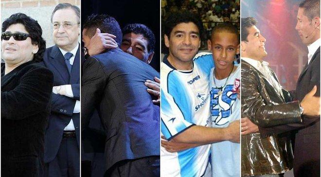 """""""Аргентина ще не заслуговує Сімеоне, а Роналду – справжня зірка"""". Марадона – про ікон сучасного футболу"""