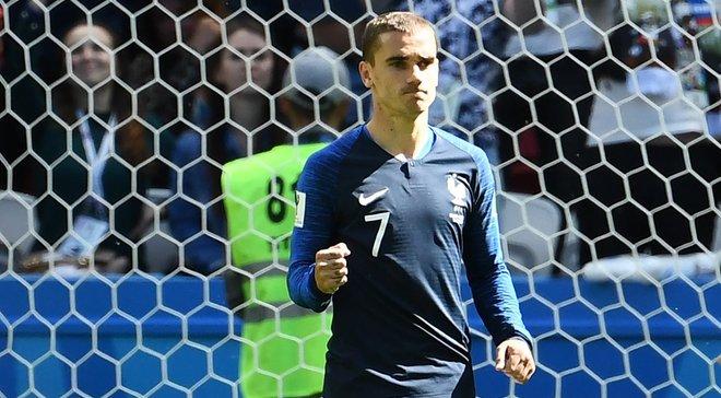 Франция не проигрывает, когда забивает Гризманн